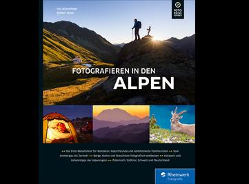 Cover von Fotografieren in den Alpen