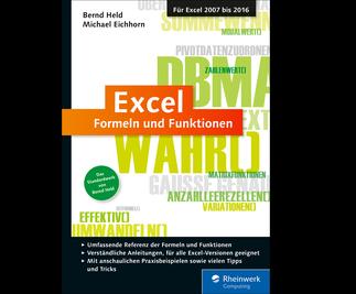 Cover von Excel – Formeln und Funktionen