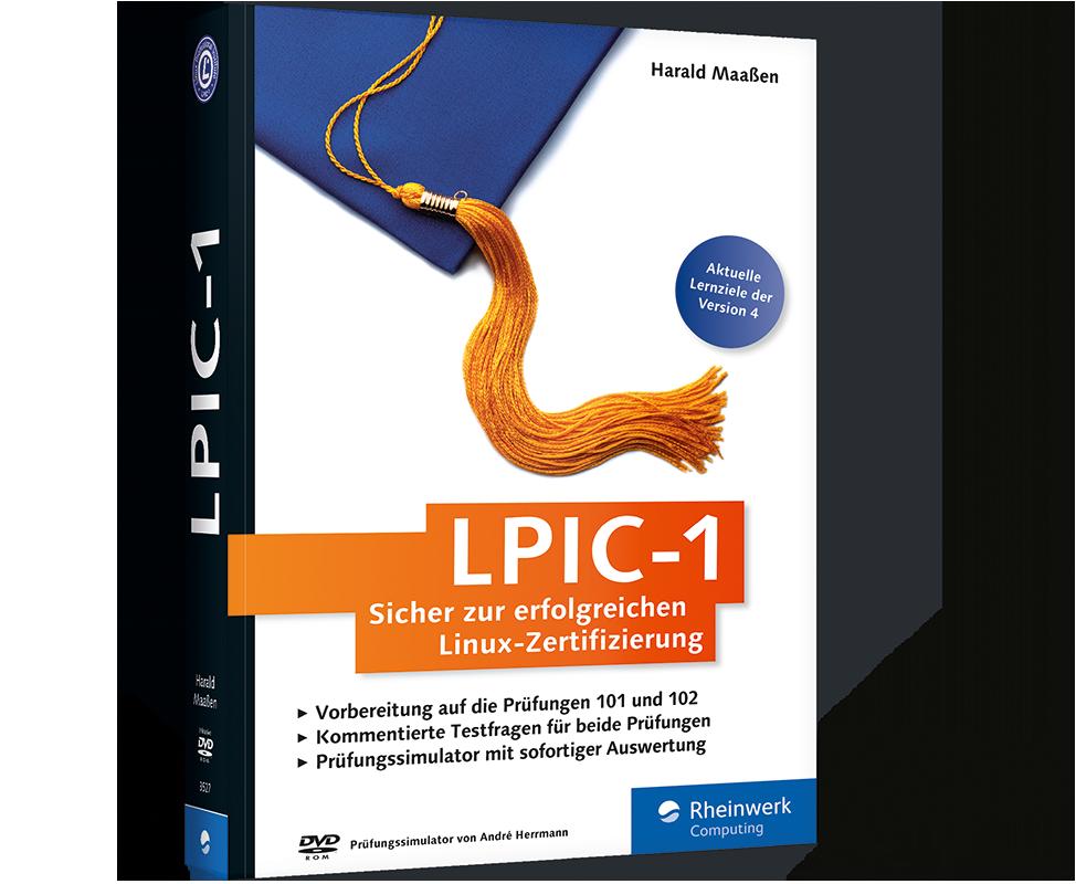 Buch: LPIC-1. Sicher zur erfolgreichen Linux-Zertifizierung