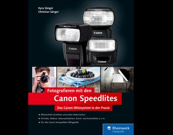 Cover von Fotografieren mit den Canon Speedlites