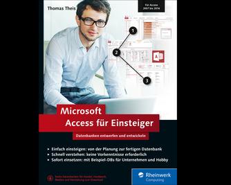 Cover von Microsoft Access für Einsteiger