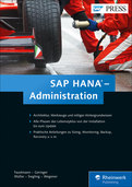 Cover von SAP HANA – Administration
