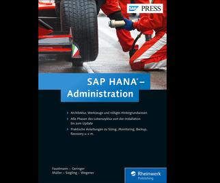 Cover von SAP HANA – Administration