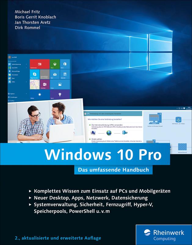 Windows 10 pro das umfassende handbuch rheinwerk verlag for Windows 10 pro