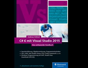 Cover von C# 6 mit Visual Studio 2015