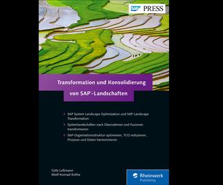 Cover von Transformation und Konsolidierung von SAP-Landschaften