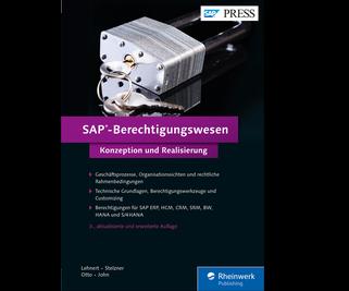 Cover von SAP-Berechtigungswesen