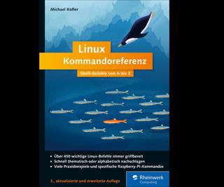 Cover von Linux Kommandoreferenz