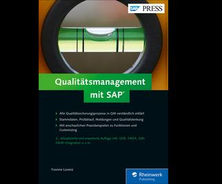 Cover von Qualitätsmanagement mit SAP