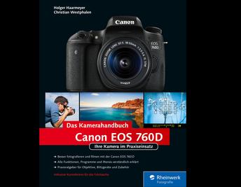 Cover von Canon EOS 760D. Das Kamerahandbuch