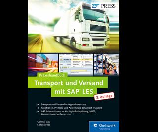 Cover von Transport und Versand mit SAP LES