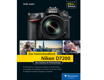 Cover von Nikon D7200. Das Kamerahandbuch
