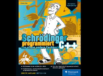 Cover von Schrödinger programmiert C++
