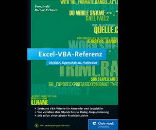 Cover von Excel-VBA-Referenz