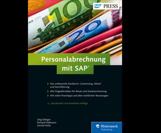 Cover von Personalabrechnung mit SAP