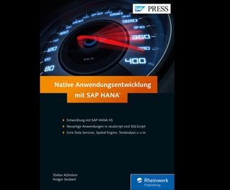 Cover von Native Entwicklung mit SAP HANA