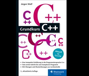 Cover von Grundkurs C++