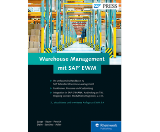 Cover von Warehouse Management mit SAP EWM
