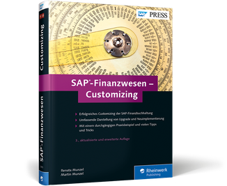 Cover von SAP-Finanzwesen – Customizing