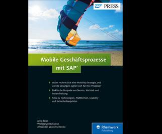 Cover von Mobile Geschäftsprozesse mit SAP