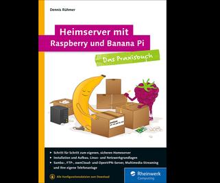 Cover von Heimserver mit Raspberry und Banana Pi