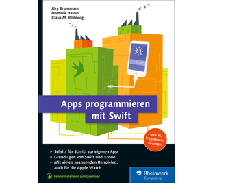 Cover von Apps programmieren mit Swift