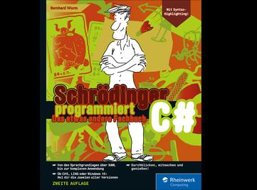 Cover von Schrödinger programmiert C#