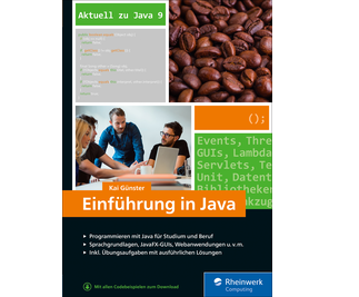Cover von Einführung in Java