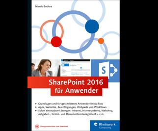 Cover von SharePoint 2016 für Anwender