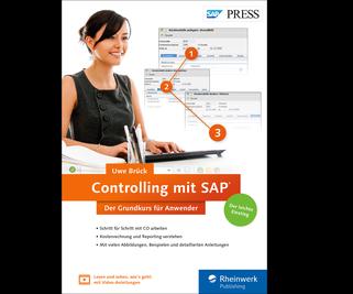 Cover von Controlling mit SAP: Der Grundkurs für Anwender