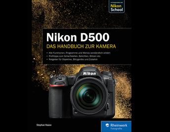 Cover von Nikon D500. Das Handbuch zur Kamera