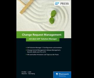 Cover von Change Request Management mit dem SAP Solution Manager