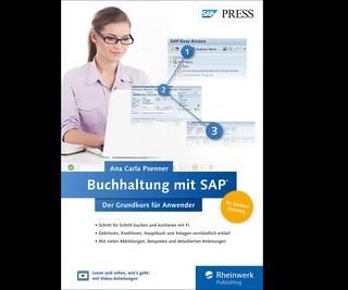 Cover von Buchhaltung mit SAP: Der Grundkurs für Anwender