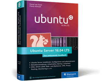 Cover von Ubuntu Server 16.04 LTS