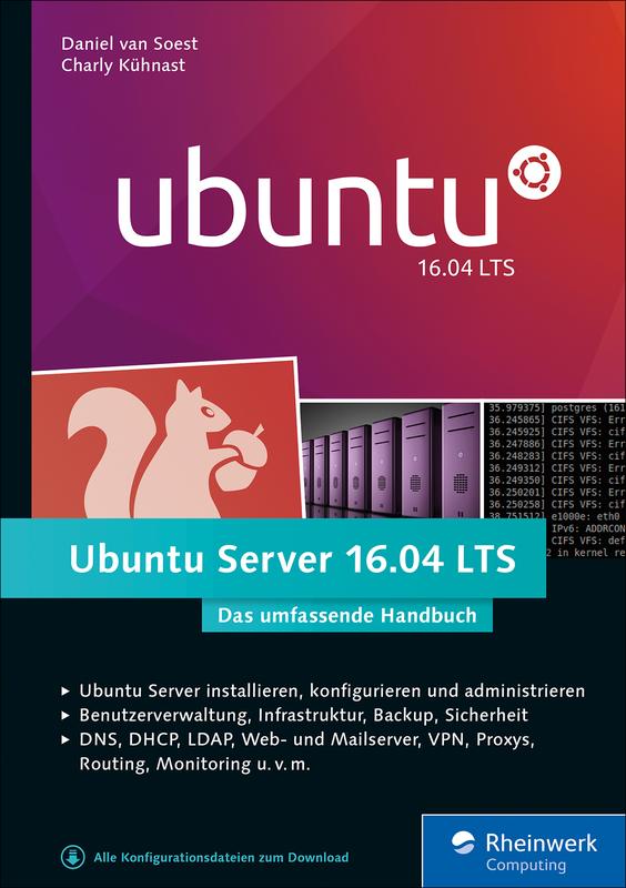 Ubuntu Server LTS Von Daniel Van Soest Und Charly Kühnast - Minecraft server erstellen ubuntu