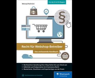 Cover von Recht für Webshop-Betreiber
