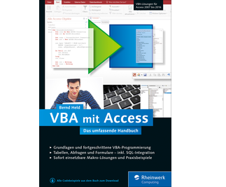 Cover von VBA mit Access