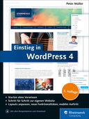 Cover von Einstieg in WordPress 4