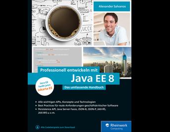 Cover von Professionell entwickeln mit Java EE 8