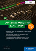 Cover von SAP Solution Manager für SAP S/4HANA