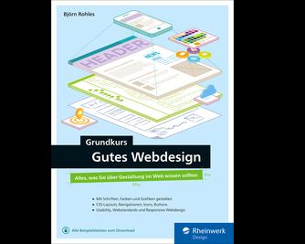 Cover von Grundkurs gutes Webdesign
