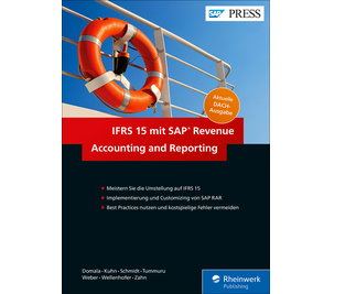 Cover von IFRS 15 mit SAP Revenue Accounting and Reporting