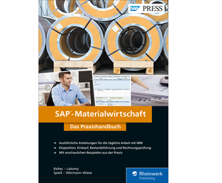 Cover von SAP-Materialwirtschaft