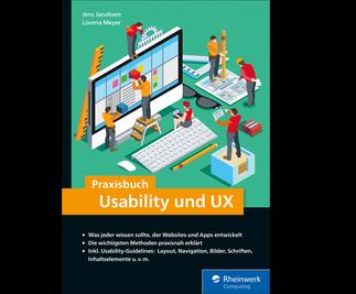 Cover von Praxisbuch Usability und UX