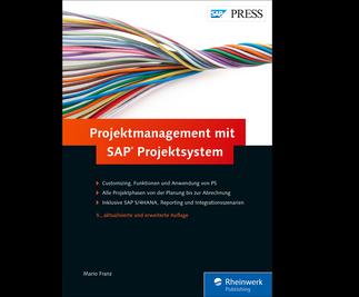 Cover von Projektmanagement mit SAP Projektsystem