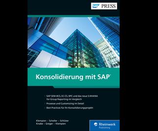 Cover von Konsolidierung mit SAP