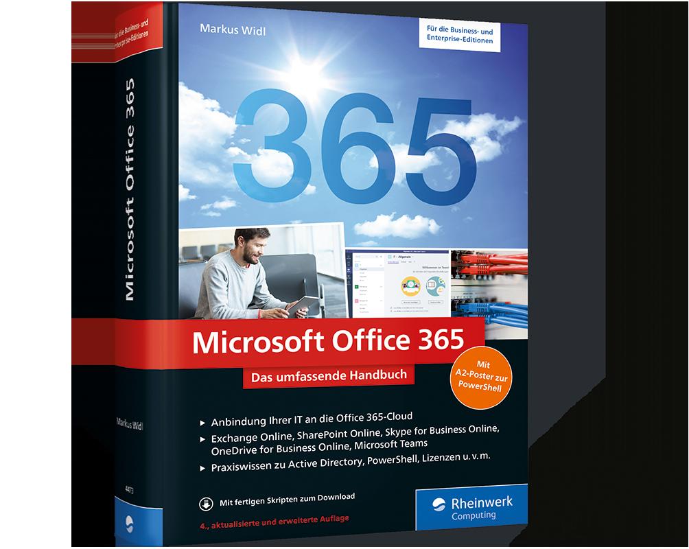 Microsoft Office 365 Das Umfassende Handbuch Rheinwerk Verlag