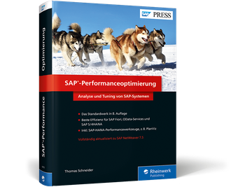 Cover von SAP-Performanceoptimierung