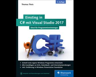 Cover von Einstieg in C# mit Visual Studio 2017