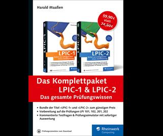 Cover von Das Komplettpaket LPIC-1 und LPIC-2